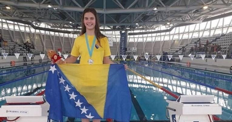 Otac čudesne plivačice iz Mostara: Moja kći nastupat će za zemlju koju nosi u srcu