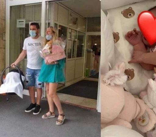 Stigle kući Luna i Mija, pogledajte prvu fotografiju bebe iz porodičnog doma