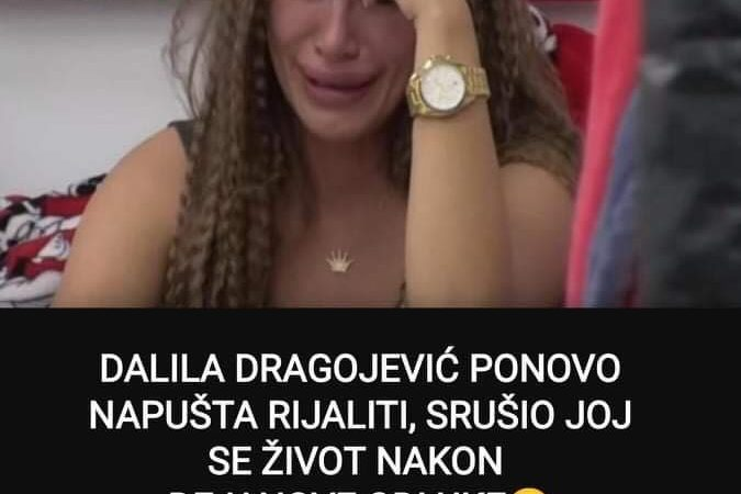 Pogledajte kakvu je odluku donije Dalila Dragojevic